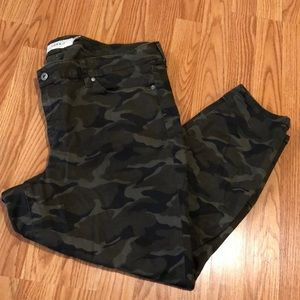 Torrid Camo Ankle Length Pants